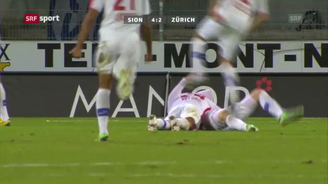 Fussball: Zusammenfassung Sion - FCZ («sportaktuell»)