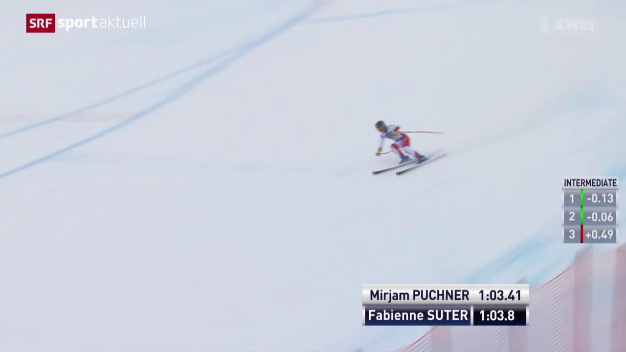 Fabienne Suter knapp geschlagen
