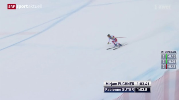 Video «Fabienne Suter knapp geschlagen» abspielen