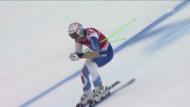 Video «Ski alpin: Ski alpin: Vilettas Super-G-Fahrt in Kitzbühel («sportlive»)» abspielen