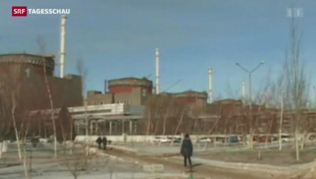 Video «Zwischenfall in ukrainischem AKW» abspielen