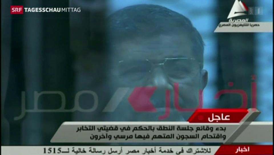 Todesstrafe für Ägyptens Ex-Präsident