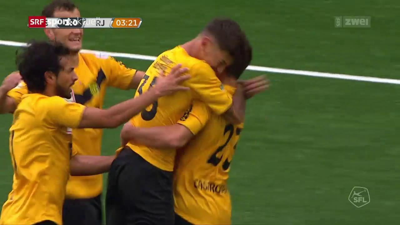 Schaffhausen mit Kantersieg gegen Aufsteiger Rapperswil