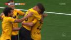 Video «Schaffhausen mit Kantersieg gegen Aufsteiger Rapperswil» abspielen