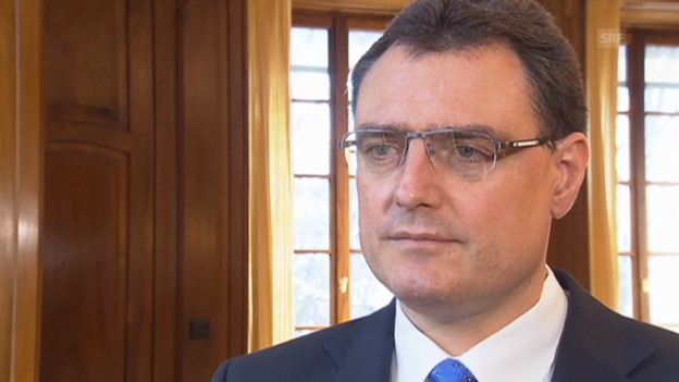 Video «SNB-Präsident Jordan: «Der Euro-Mindestkurs bleibt wichtig.»» abspielen