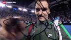 Video «Federer im Eiltempo eine Runde weiter» abspielen