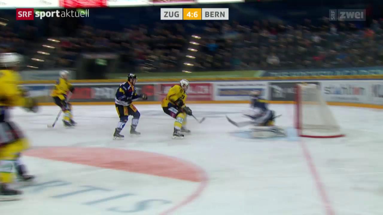 Eishockey: NLA, Zug - Bern