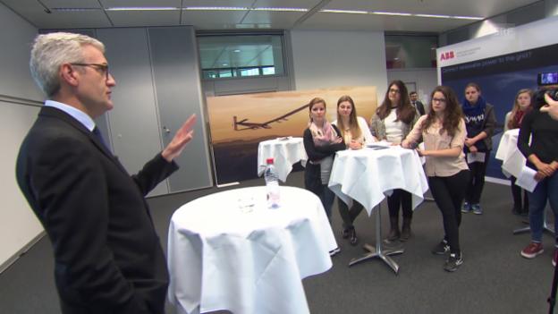 Video ««Mint»: ABB-Chef Ulrich Spiesshofer stellt sich Schüler-Fragen» abspielen