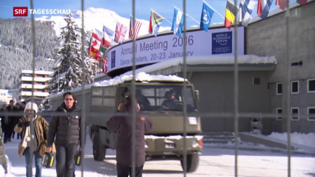 Video «Koksende Soldaten am WEF» abspielen