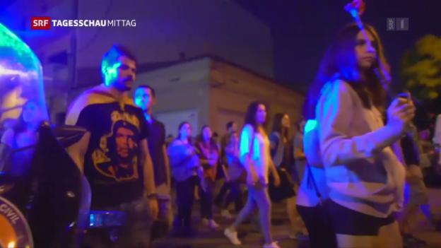 Video «Die Fronten in Spanien erhärten sich» abspielen