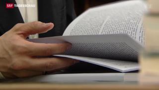 Video «Fall Mörgeli abgesegnete Doktoranden-Arbeiten z.T. ungenügend» abspielen