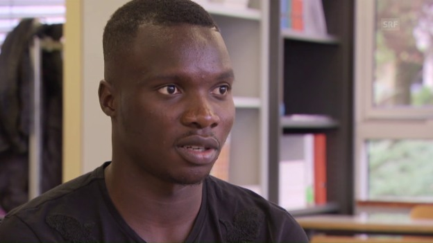 Video «So tickt Sions Sturmjuwel Chadrac Akolo» abspielen