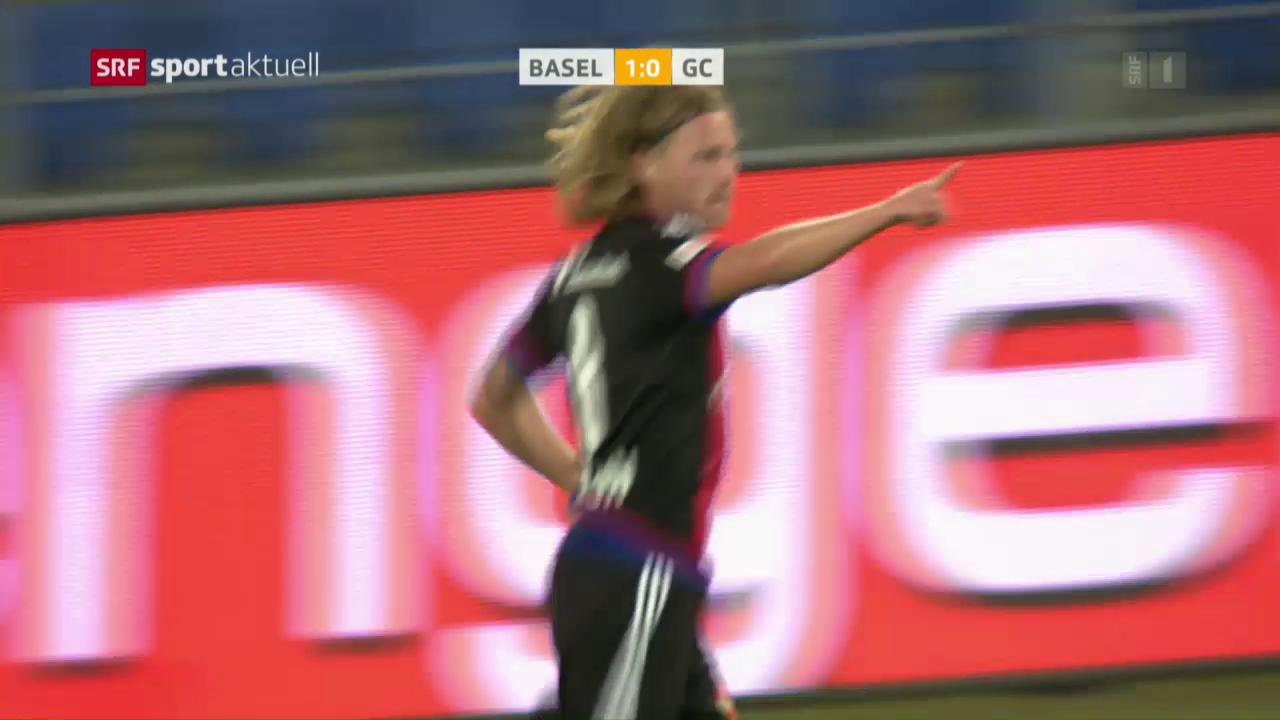 Basel wahrt auch gegen GC die weisse Weste