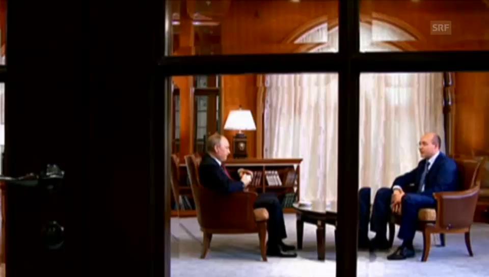 Putin über den Willen der Krim-Bevölkerung