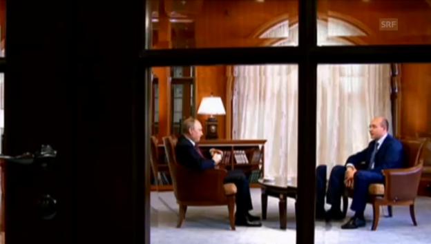 Video «Putin über den Willen der Krim-Bevölkerung» abspielen