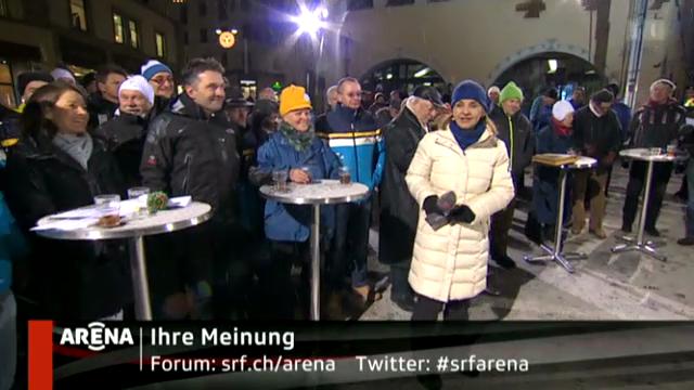 «Arena vor Ort»: Olmpiade in der Schweiz?