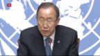 Video «Ban Ki-Moon besorgt» abspielen
