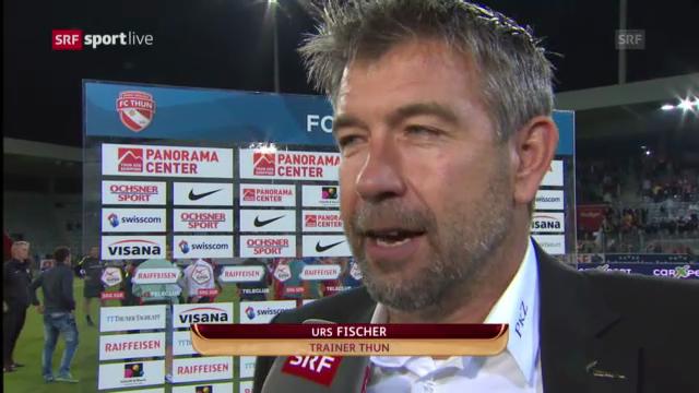 Interview mit Thun-Trainer Urs Fischer