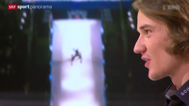 Video «Wie läuft ein Sprung über einen Kicker ab? Fabian Bösch erklärt's» abspielen