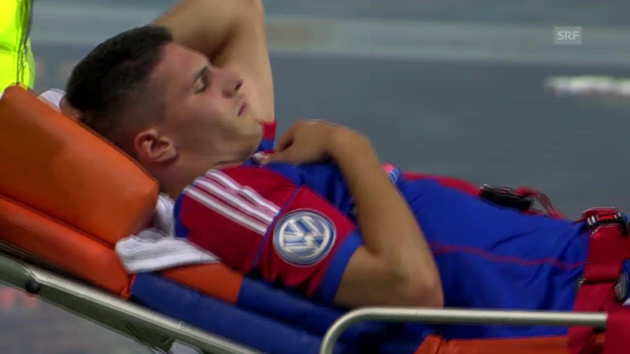 Fabian Schärs Verletzung