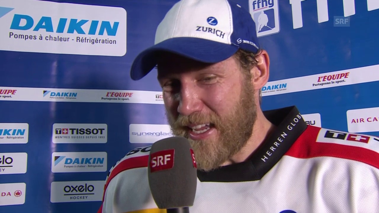 Eishockey: Timo Helbling im Interview