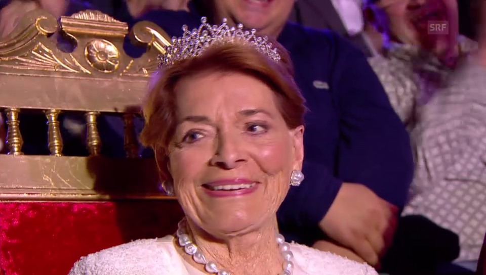 Die Queen des Eurovision wird gekrönt.