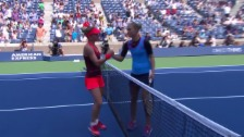 Video «Tennis: US Open, 2. Runde, Matchball Halep» abspielen