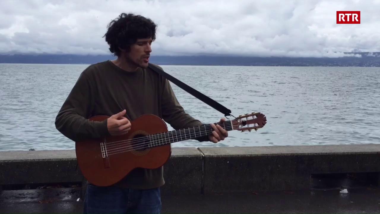 Pascal Gamboni al Lac Léman