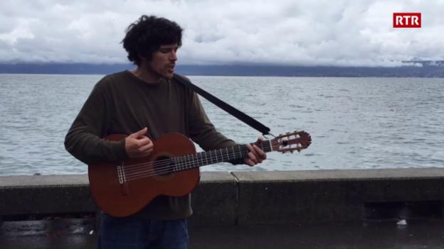 Laschar ir video «Pascal Gamboni al Lac Léman»