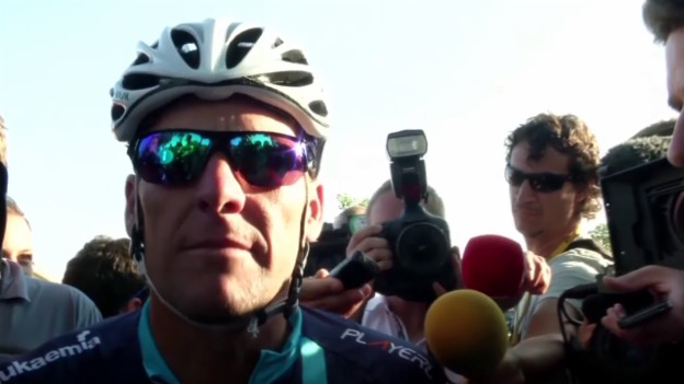 Video «Rad: Tour de France, Charity-Rennen, Lance Armstrong» abspielen