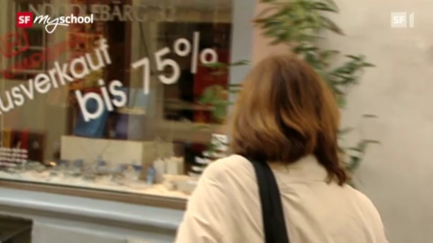 Video «Wirtschaft und Gesellschaft: Kaufen (2/12)» abspielen