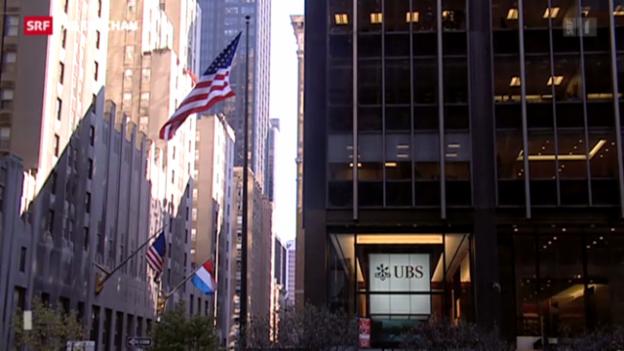 Video «UBS überrascht mit guten Zahlen» abspielen