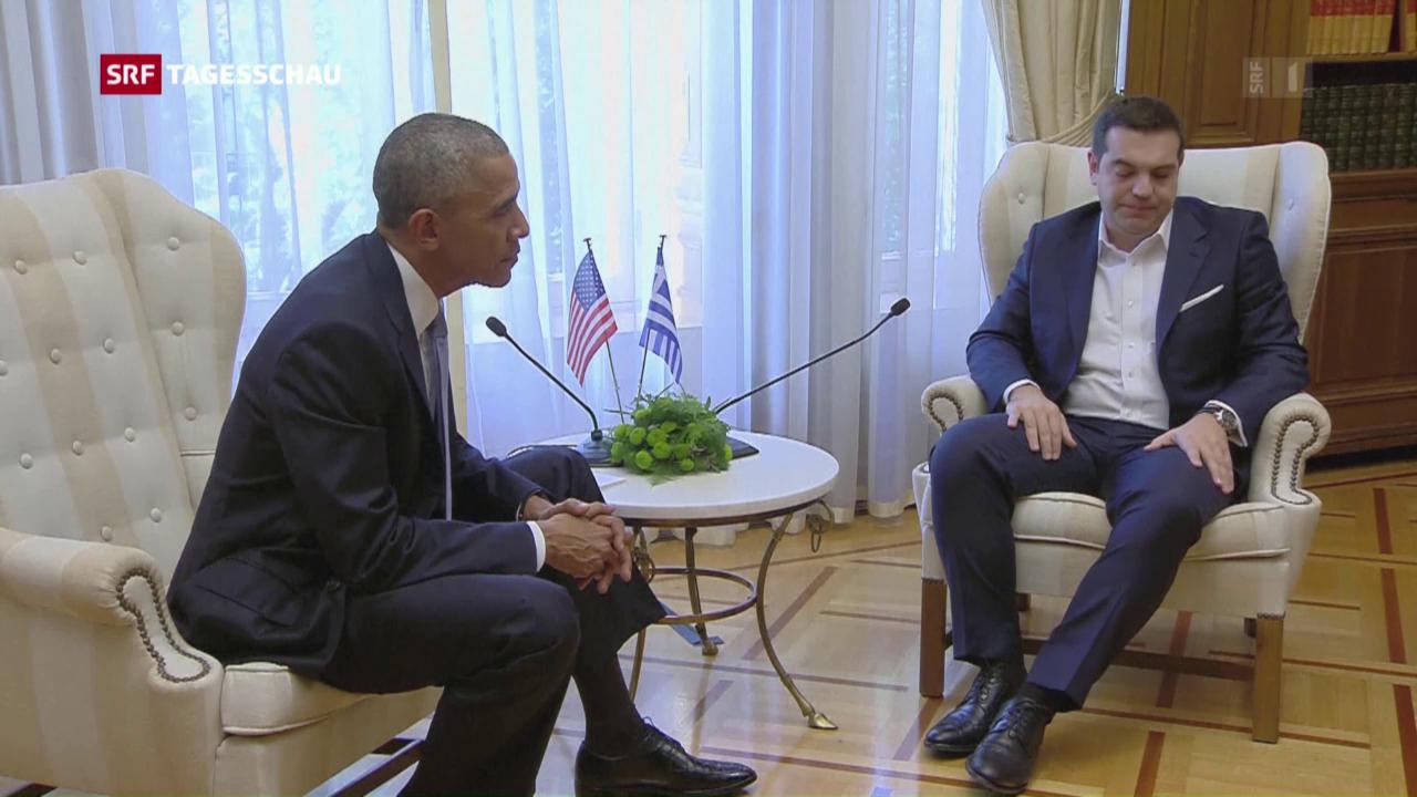 Obama auf Abschiedstour durch Europa