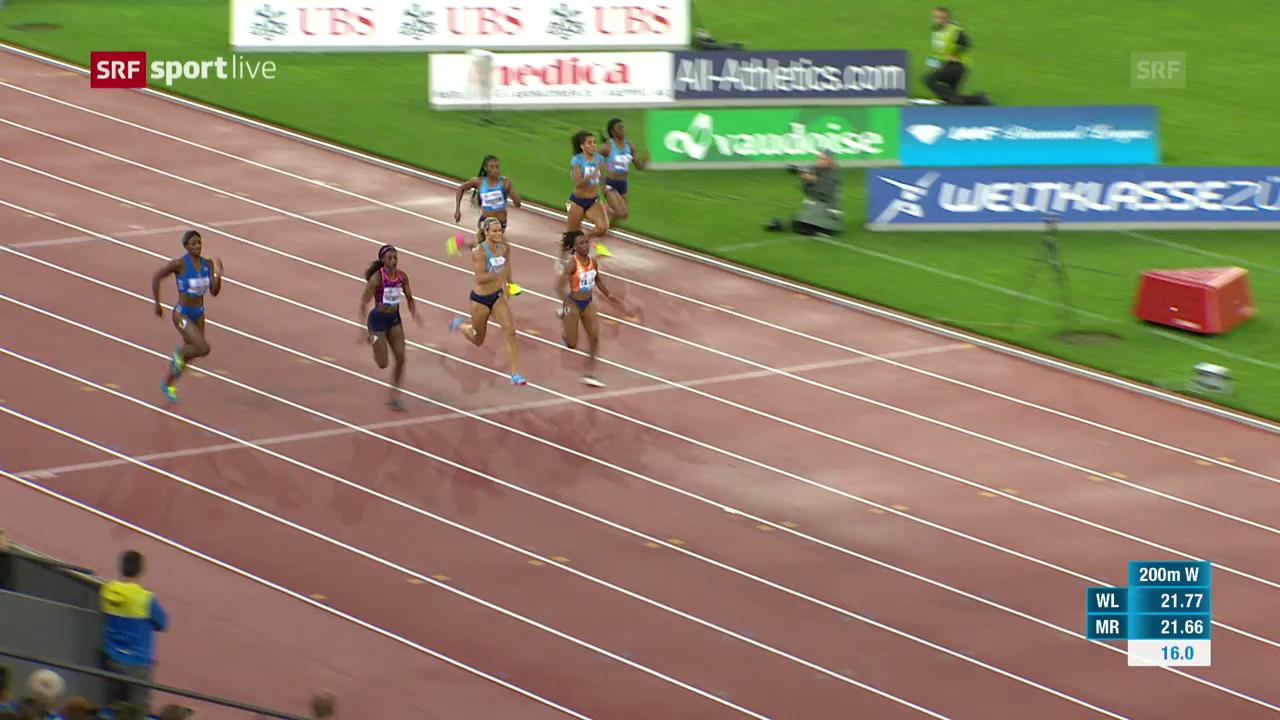 200 m der Frauen: Miller-Uibo triumphiert