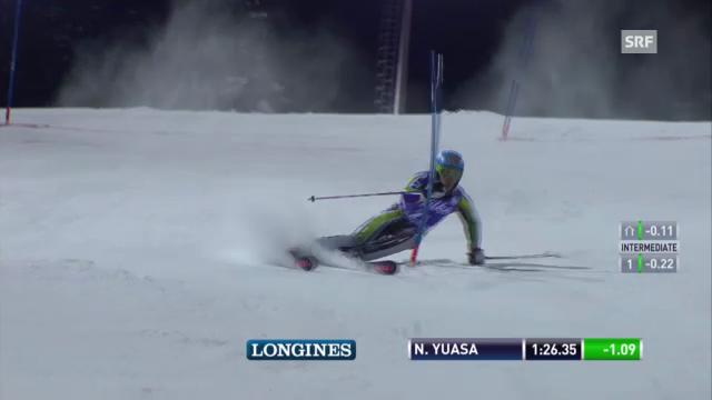 Ski: Yuasas 2. Lauf («sportlive»)