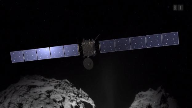 Video «Mit «Rosetta» dem Ursprung des Lebens auf der Spur» abspielen