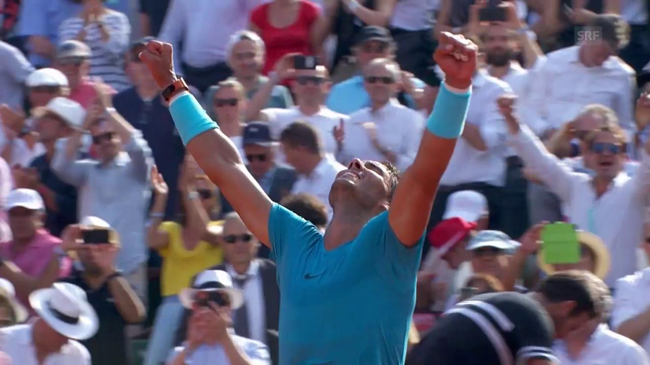 Nadal steht im Paris-Final