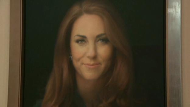 Video «Herzogin Catherine und ihr Porträt (unkomm.)» abspielen