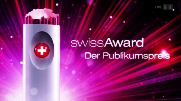 Video ««SwissAward – Der Publikumspreis»» abspielen