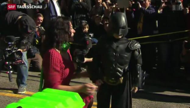 Video ««Batkid» in San Francisco – ein Traum geht in Erfüllung» abspielen