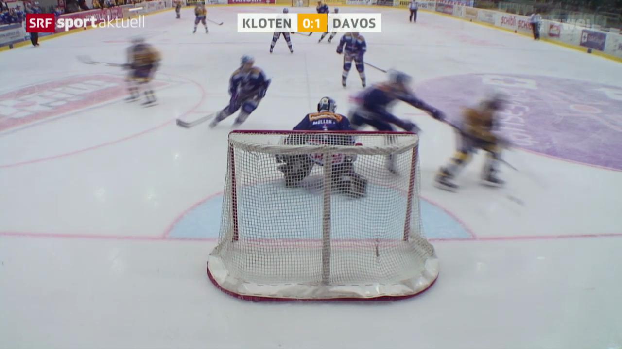 Eishockey: Kloten - Davos