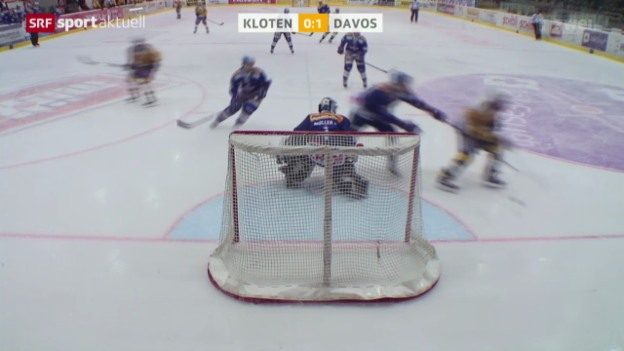Video «Eishockey: Kloten - Davos» abspielen