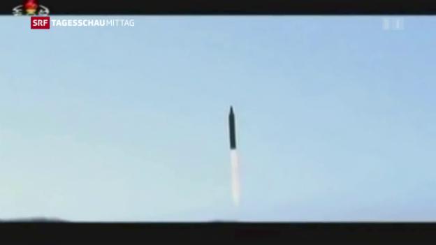 Video «Neuer Raketentest in Nordkorea» abspielen