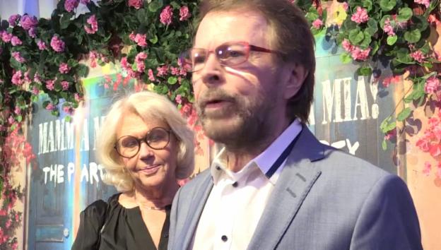 Video «Abba über «Mamma Mia» und gemeinsame Bühnenauftritte» abspielen