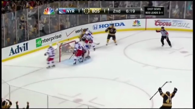 Highlights Boston - New York Rangers