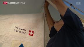 Video «Schweizer Hilfe für Erbil» abspielen