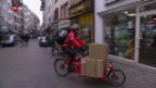 Video «Die Idee: Cargo-Bikes zur Entlastung der Innenstädte» abspielen