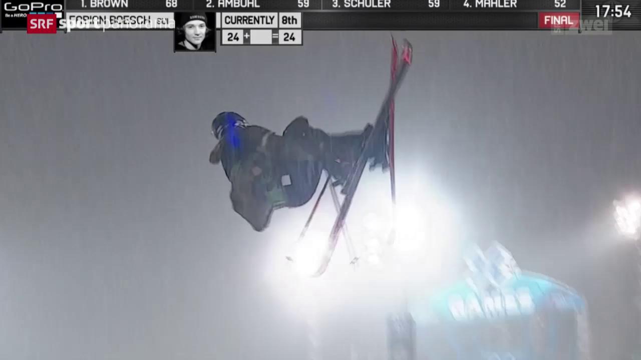 Ski-Freestyler Bösch triumphiert an den X-Games