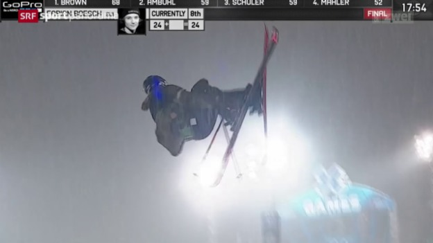 Video «Ski-Freestyler Bösch triumphiert an den X-Games» abspielen