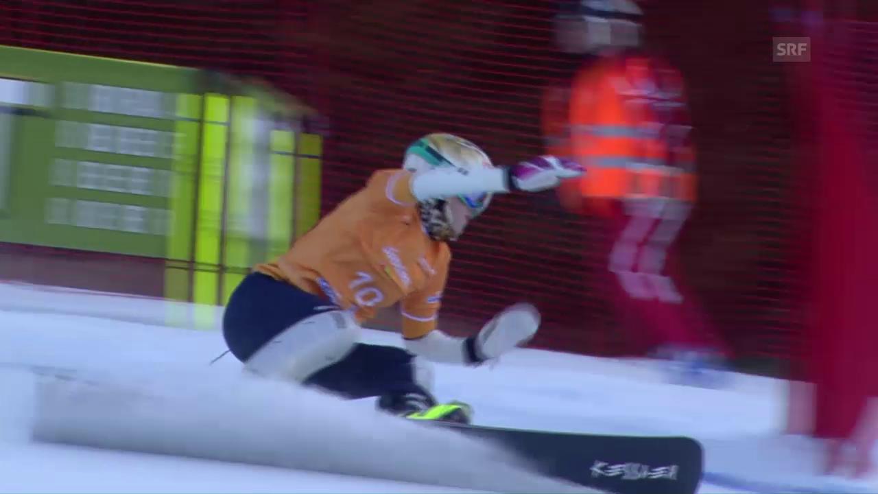 Schweizer Snowboarder früh gescheitert